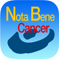 iphone NotaBene Cancer